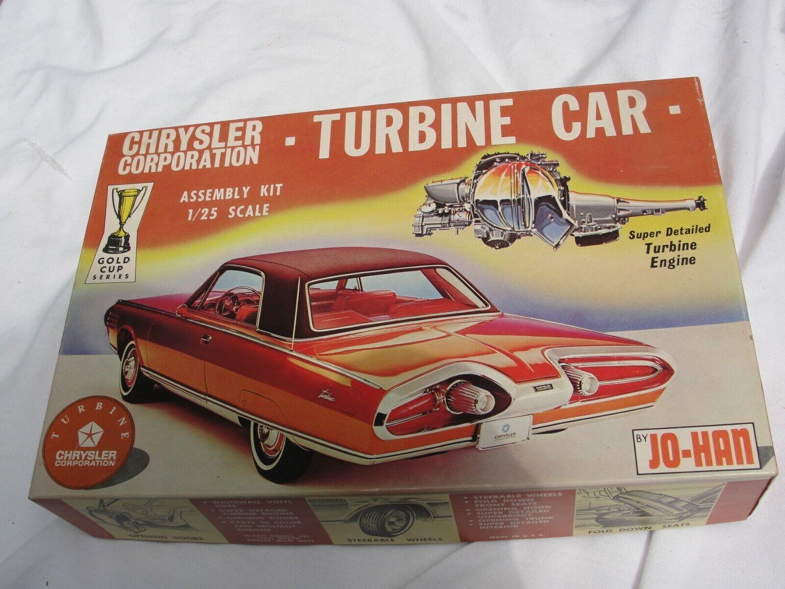 Johan Chrysler Turbinbil, komplett och obebyggd