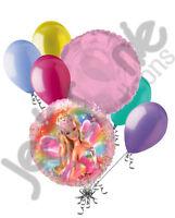 7 Pc Barbie Fairytopia Balloon Bouquet Party Decoration Happy Birthday Pink Doll