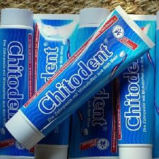 Chitodent Zahnpasta mit Chitosan ohne Fluor 100ml Naturkosmetik Silizium Chitin