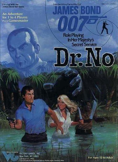 JAMES BOND 007 DR. NO SEALED Boxed Set Victory Games Majestys Secret Service Box