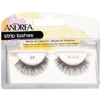 8 Pairs Andrea Modlash 26 False Eyelashes Strip Lashes Black 22610