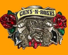 Guns N Roses Concert Ticket VIP Pass Pick Buckle Axl Slash Lot Set Band Rock GR