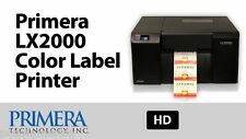 Primera LX2000 Color Label Printer 074461 high-resolution inkjet technology NEW