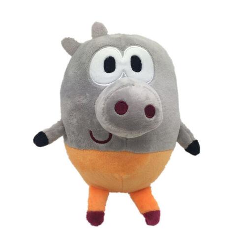 Hey Duggee Squirrel Club Peluche jouet poupée chien mignon farcie rhinocéros