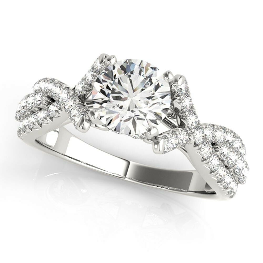 1.00 Ct Real Diamond Engagement Ring 950 Platinum Bridal Wedding Special Sale