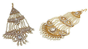 Fashion Jewelry Jwellmart Indian Bollywood Cz Belly Dance Passa Jhoomer Fashion Hair Accessory Hair & Head Jewelry