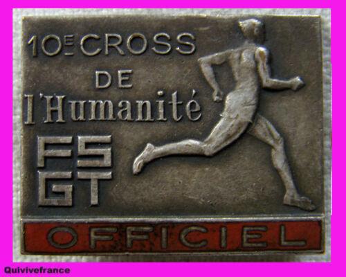 IP547 - INSIGNE d' OFFICIEL DU 10° CROSS DE L'HUMANITE (1947) - COMMUNISME