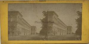 Parigi Palais Da L Industria Foto PL40L4 Vintage Stereo Albumina