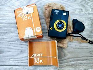 NEU-Agat-18k-Halbrahmen-35mm-Lomography-Vintage-russische-Kamera-in-Box-UDSSR