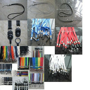 Lot-of-5-Detachable-Strap-lanyard-hook-clip-4-Cell-Phone-Mp3-ID-Card-holder-reel