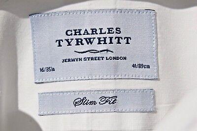 Charles Tyrwhitt Jermyn Street 15.5/34 Gentleman's Slim Fit White Shirt- $110.00