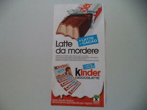 advertising-Pubblicita-1975-KINDER-CIOCCOLATTE