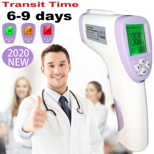 Digital Thermometerpistole zum Infrarot Stirn Berührungslos Erwachsene Ohne Akku