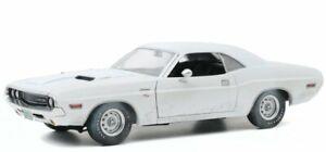 DODGE Challenger R/T - 1970 - dirty white - Greenlight 1:18