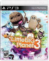 Littlebigplanet Little Big Planet 3 (sony Playstation 3, 2014) Brand
