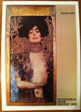 "Gustav Klimt Holofernes Wiem Poster Authorised Reproduction 16"" X 11"""