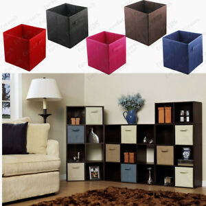 6-pcs-Home-Storage-Box-Household-Organizer-Fabric-Cube-Bin-Basket-Container