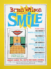 'Brian Wilson presents Smile' UK Tour 2004 A5 tour flyer...ideal for framing!