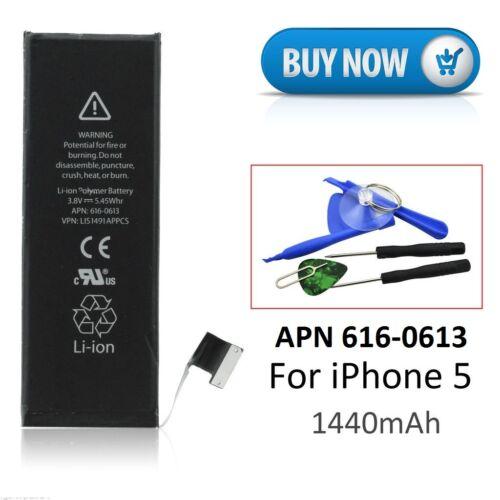 batteria compatibile 616-0613 per iphone 5 incluso i kit per la sostituzione