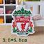 Patch-Toppa-Brand-Logo-Squadre-di-Calcio-Football-Team-Ricamata-Termoadesiva Indexbild 8