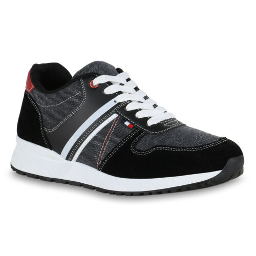 Herren Sportschuhe Laufschuhe Denim Turnschuhe Fitness Sneaker 825988 Trendy Neu