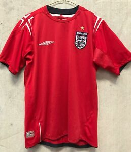 Genuine ENGLAND FOOTBALL JERSEY 2004 2006 WORLD CUP Size SMALL Soccer Fifa