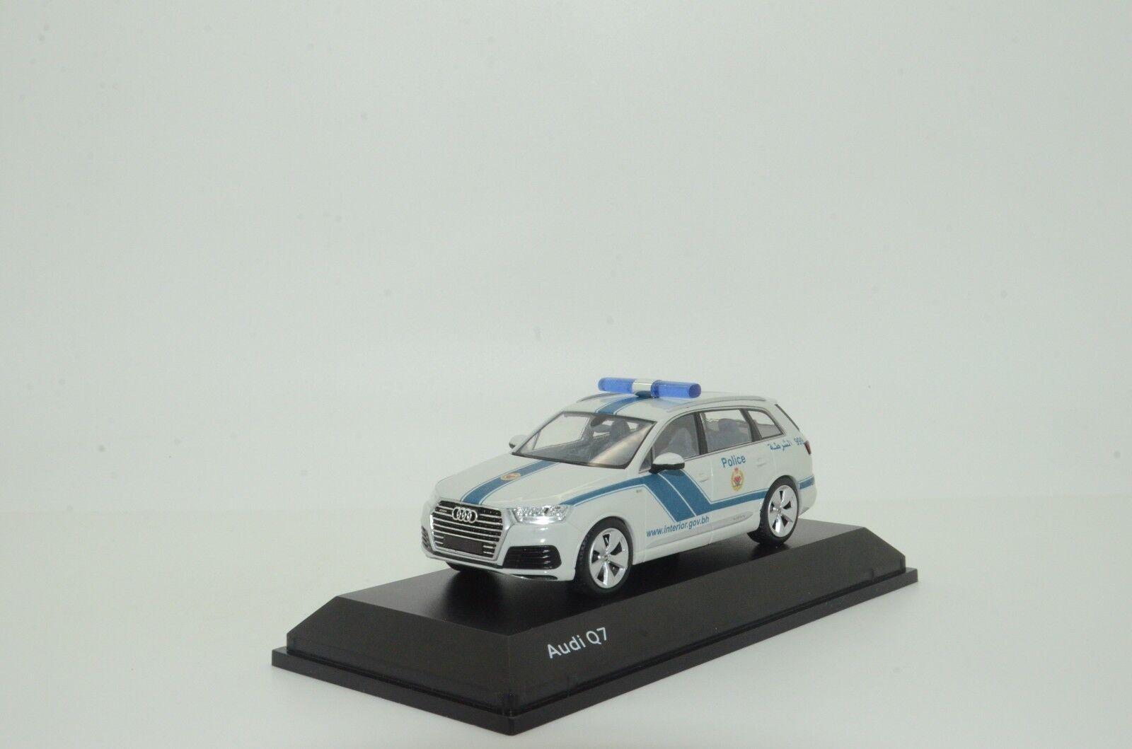 Raro nuevo Audi Q7 Bahrein policía Hecho a Medida 1/43