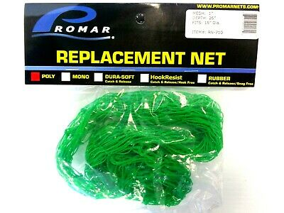 "for 28/"" Frame Promar Replacement Net RN-722 Black Poly 1-1//4/"" Mesh 36/"" Depth"