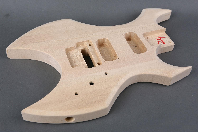 Körper Gitarre Elektro AX Linden - Lindenholz ax Stil electric guitar body