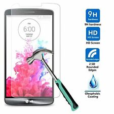 Premium Real Tempered 9h Glass Screen Protector Skin Film for LG G3 G 3