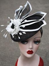 Womens Ladies Dress Fascinator Wedding Kentucky Derby Sinamay Hat T213