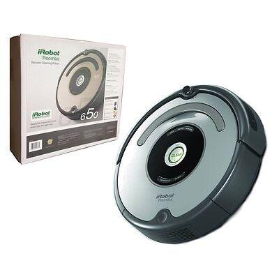 iRobot Roomba 650 Automatic Vacuum Cleaner Robot Includes Dock
