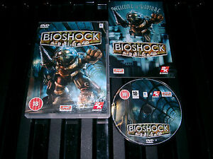 BIOSHOCK-APPLE-MAC-DVD-V-G-C-FAST-POST-COMPLETE-action-adventure-amp-FPS-game