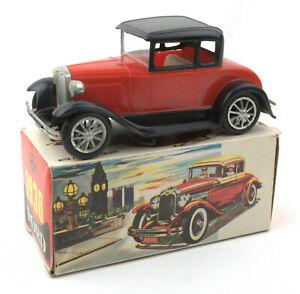 Vintage-MIC-Hong-Kong-Plastic-Friction-1930-Ford-BOXED