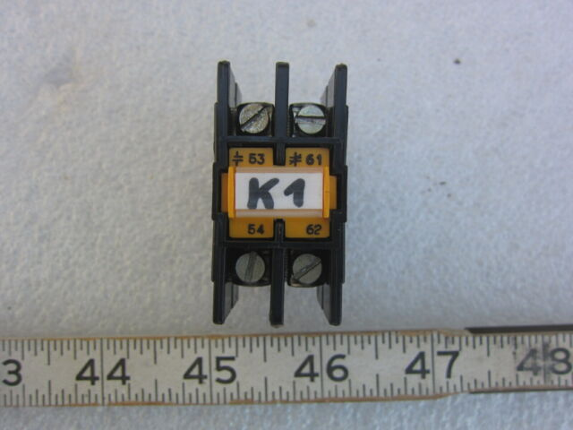 # LA1 DN 20 Telemecanique Auxiliary Contact Used Warranty LAD1N20