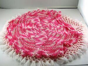 Lot Crochet Doilies 6 pcs