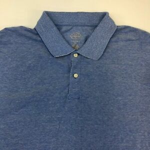 St-John-039-s-Bay-Legacy-Polo-Shirt-Men-039-s-2XL-XXL-Short-Sleeve-Blue-100-Cotton