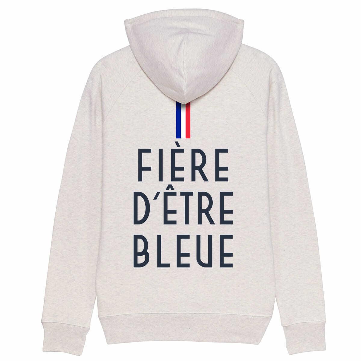 Hoodie FIÈRE D'ÊTRE D'ÊTRE D'ÊTRE bluE   France football maillot coupe du monde féminine 2019 394b9d