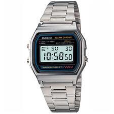 Casio Men's Digital Watch, Silver-Black A158WA-1