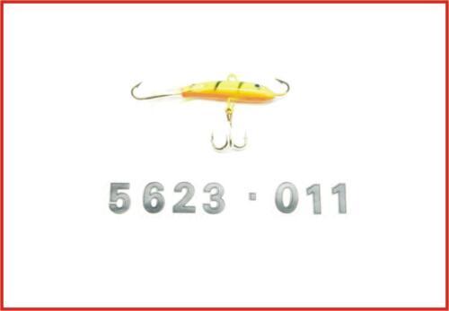 9G Sha Delta Fishing Qualitäts Balance Barsch Zocker Blinker Köder Tiger-Transp