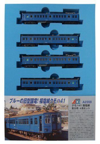 Nuevo Calibre N A2359 KUMOHA 41 Fukuen Línea blu no. 20 4-Car Set
