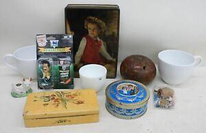 Mugs-Boxes-Coconut-Shell-Corinthian-David-Seaman-Charles-amp-Diana-JOB-LOT-10x