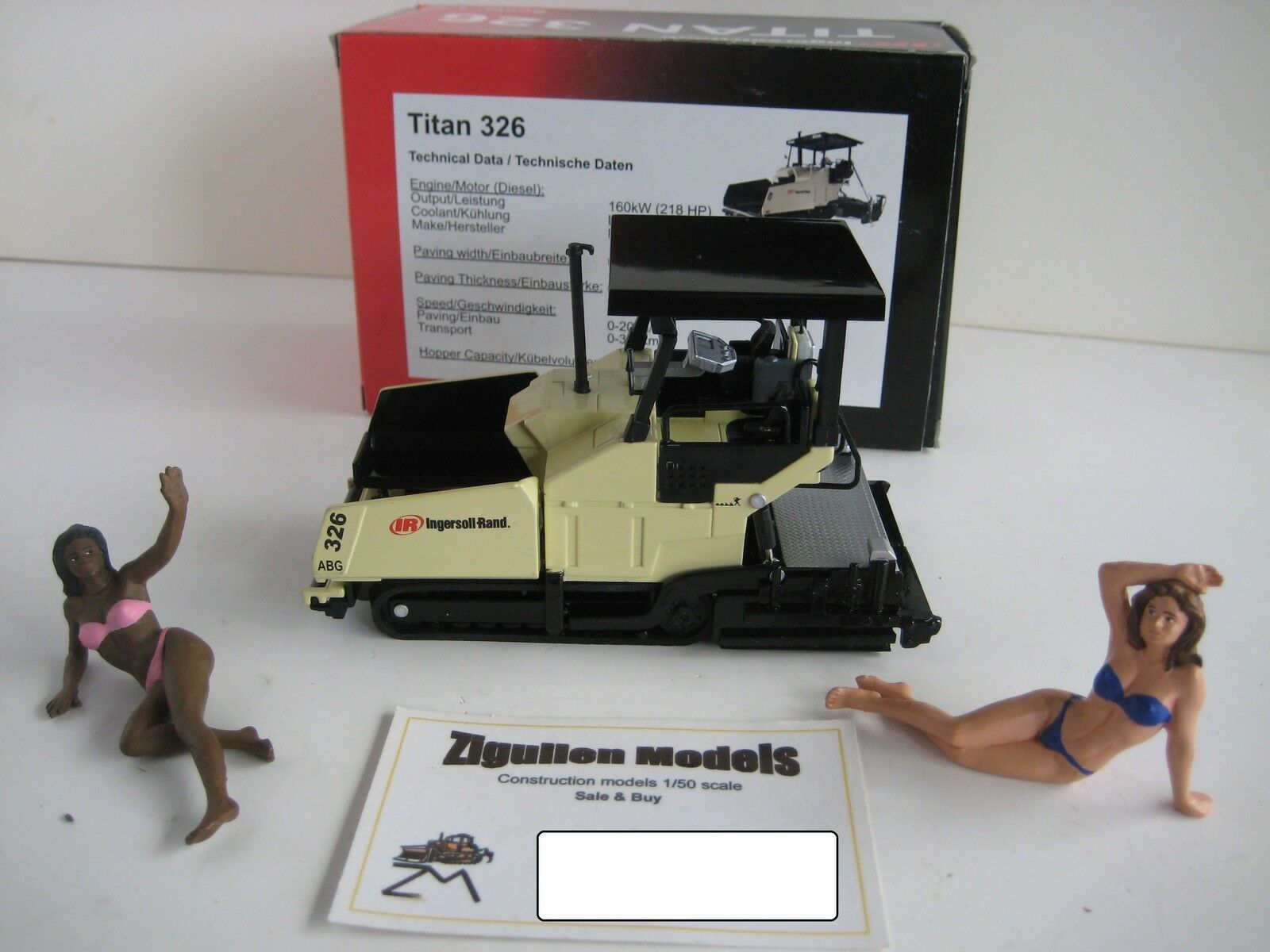 INGERSOLL RAND ABG TITAN 326 FERTIGER LIMITED 1 50 OVP CONRAD    Große Ausverkauf