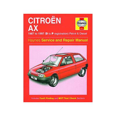 Service & Repair Manuals Haynes Workshop Manual Citroen C15 Van ...