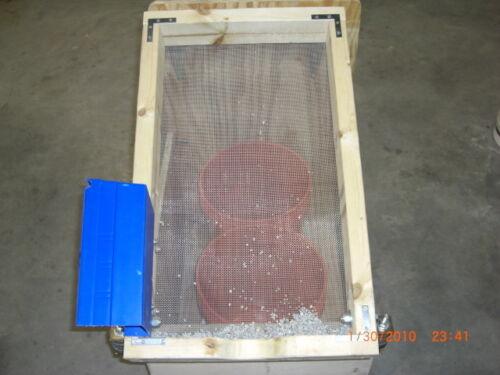 SUPER Power Sand Sifter Shaker For Sandblaster Sandblasting