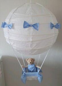 Details zu Heißluftballon Deckenlampe Kinderzimmer Deko Junge Mädchen  Geschenk Geburt