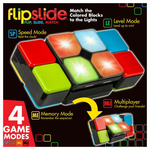 fast paced puzzle game of skill! Flipslide is an addictive FLIPSLIDE