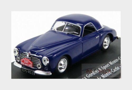 Renault Simca Gordini 8 Sport #221 Rally Montecarlo 1950 EDICOLA 1:43 ED2235003
