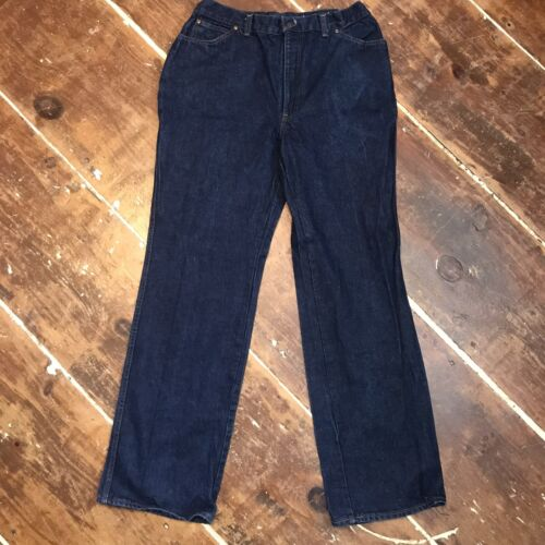 Vintage 70s Levis High Waisted Jeans Womens 18 Dar