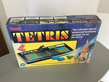 1989# BOARD GAME OFFICIAL NINTENDO TOMY CONSOLE TETRIS#NIB